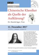 Vortrag 12 Dezember