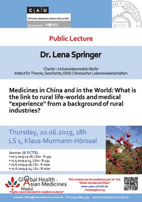 Dr. Lena Springer