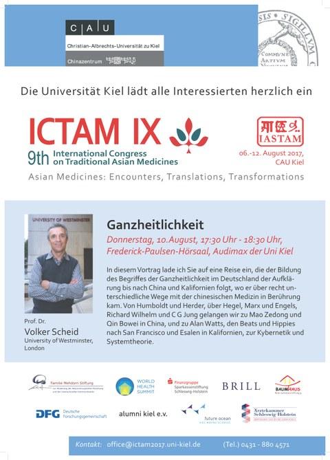 Plakat ICTAM