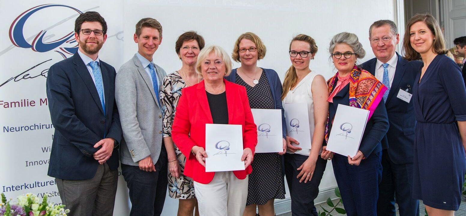 Foto Förderpreis Mehdorn 2017