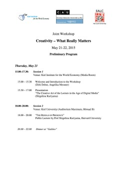 Joint Workshop 1