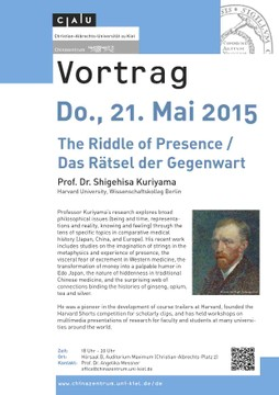 Vortrag: The Riddle of Presence