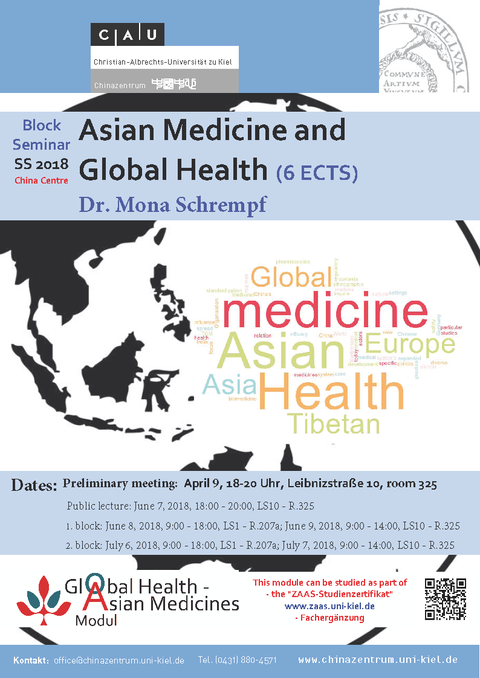 Asian Medicines and Global Health