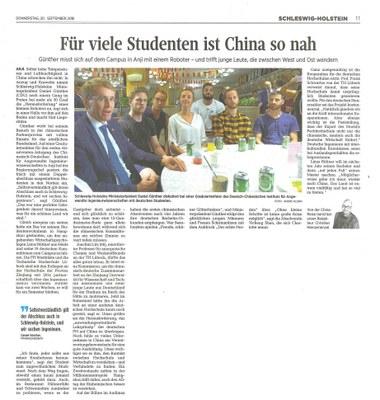 Für viele Studenten ist China so nah