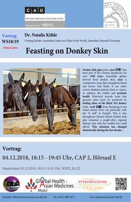 Feasting on Donkey Skin