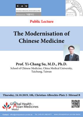 Plakat Prof. Su Yi-Chang