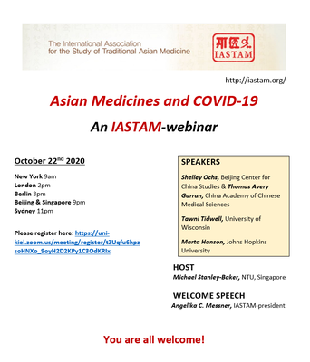 IASTAM second webinar
