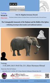 The Unimaginable Immensity of the Elephant and the Riddle of the Sphinx